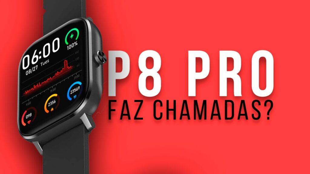 Smartwatch P8 Pro Brasil