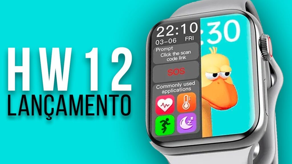 Smartwatch Vwar HW12 Brasil
