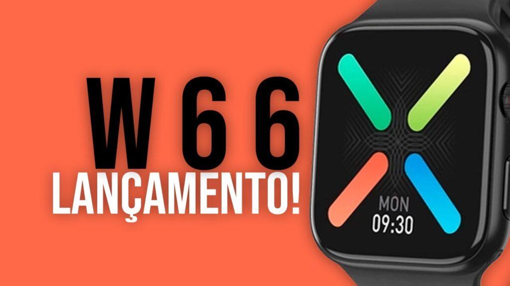 Smartwatch W66 PTBR